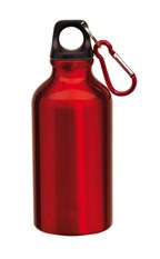 Alu-Drinking bottle Transit, Red