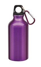 Alu-Drinking bottle Transit, Purple