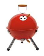 Mini BBQ Grill Cookout, red