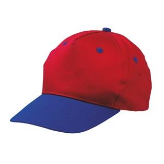 5 panel katoenen baseball cap voor kinderen met bo