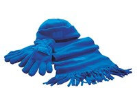 Fleece Set,Polar Fleece,royal blueTripl