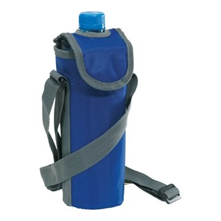 420D cooler bag for 0,5l bottle, blue