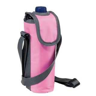 420D cooler bag for 0,5l bottle, pink