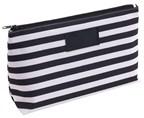 Toilet bag Stripy 300D, blackwhite