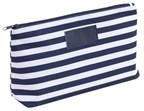 Toilet bag Stripy 300D, bluewhite