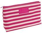 Toilet bag Stripy 300D, pinkcream