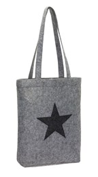 Vilten shopper STAR DUST