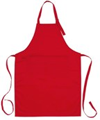 Apron Best Service, woven, red