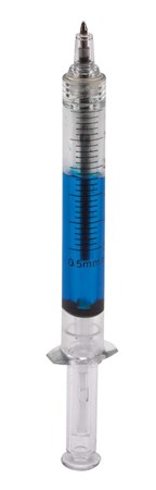 Injection pen Injection, blue