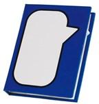 Memo folder Speech Bubble, blue