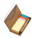Notebox w sticker Stick it, brown
