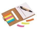 mini notebook memo, brown