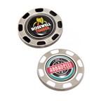 Metal Pokerchip w Removable Marker