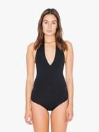 AMA Bodysuit CotSpandex Halter