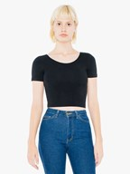 AMA T-shirt Crop CotSpandex For Her