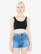 AMA Tanktop Crop CotSpandex For Her