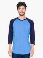 AMA T-shirt PolCot 34 Raglan Sleeve