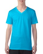 Anvil T-shirt Featherweight V-neck for him