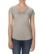 Anvil T-shirt V-neck TriBlend SS for her