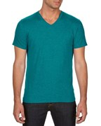 Anvil T-shirt V-neck TriBlend SS for him