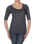 Anvil T-shirt TriBlend Deep Scoop
