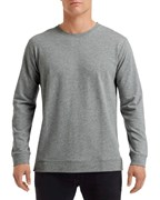 Anvil Sweater Light Terry Crew Unisex