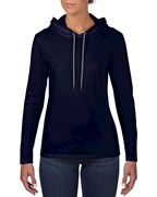 Anvil T-shirt Hooded LS for her