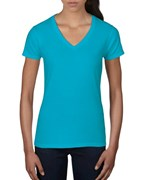Anvil T-shirt V-neck Lightweight SS for her