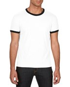 Anvil T-shirt Ringer Lightweight SS