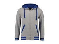 L&S Sweater Hooded Cardigan for him