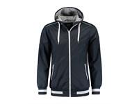 L&S Jacket Hooded Nylon unisex