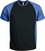 Tweekleurig Heren Sportshirt
