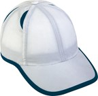 6 Panel Micro-Edge Sports Cap