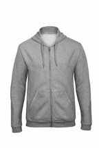 ID205 Hooded Full zip Sweatshirt 5050