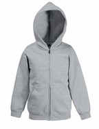 Kids Premium Hooded Sweat Jacket