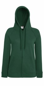 Lady-Fit Lightweight Hooded Sweat Jacket