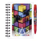 BIC® Notebooks Plastic Cover Klein