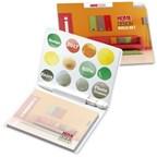 BIC® 101 mm x 75 mm miniboekje met potlood