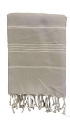 Hamamdoek 100x180 cm lichtgrijs