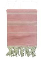 Hamamdoek 100x180 cm roze
