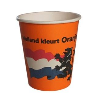 180cc oranje koffiebeker koffiebekers Voorbedrukte