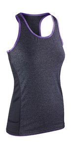 Women`s Stringer Back Marl Top