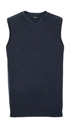Men's V-Neck Sleeveless Knitted Pullover