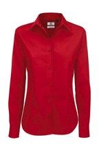 Ladies` Sharp Twill LS Shirt - SWT83