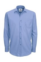 Men`s Smart LS Poplin Shirt - SMP61