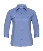 Ladies` Roll 34 Sleeve Shirt