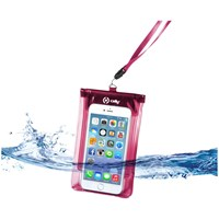 Celly Splashbag spatwaterdicht etui voor smartphon