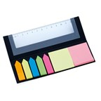 Ruler Sticky Notepad HENSA