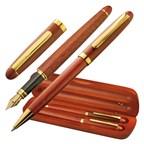Houten pennenset