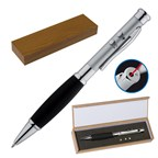 Metalen pen met LED en laserpointer